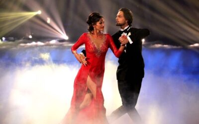Dancing With The Stars: Marco De Angelis and Cassandra Thorburn