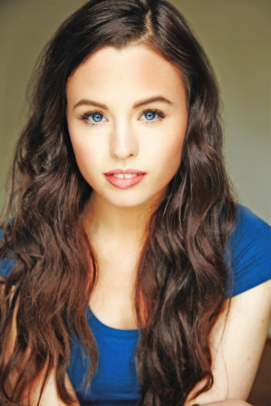 Singer, model, TV presenter Hayley Gia Hughes, headshot | Dancewriter