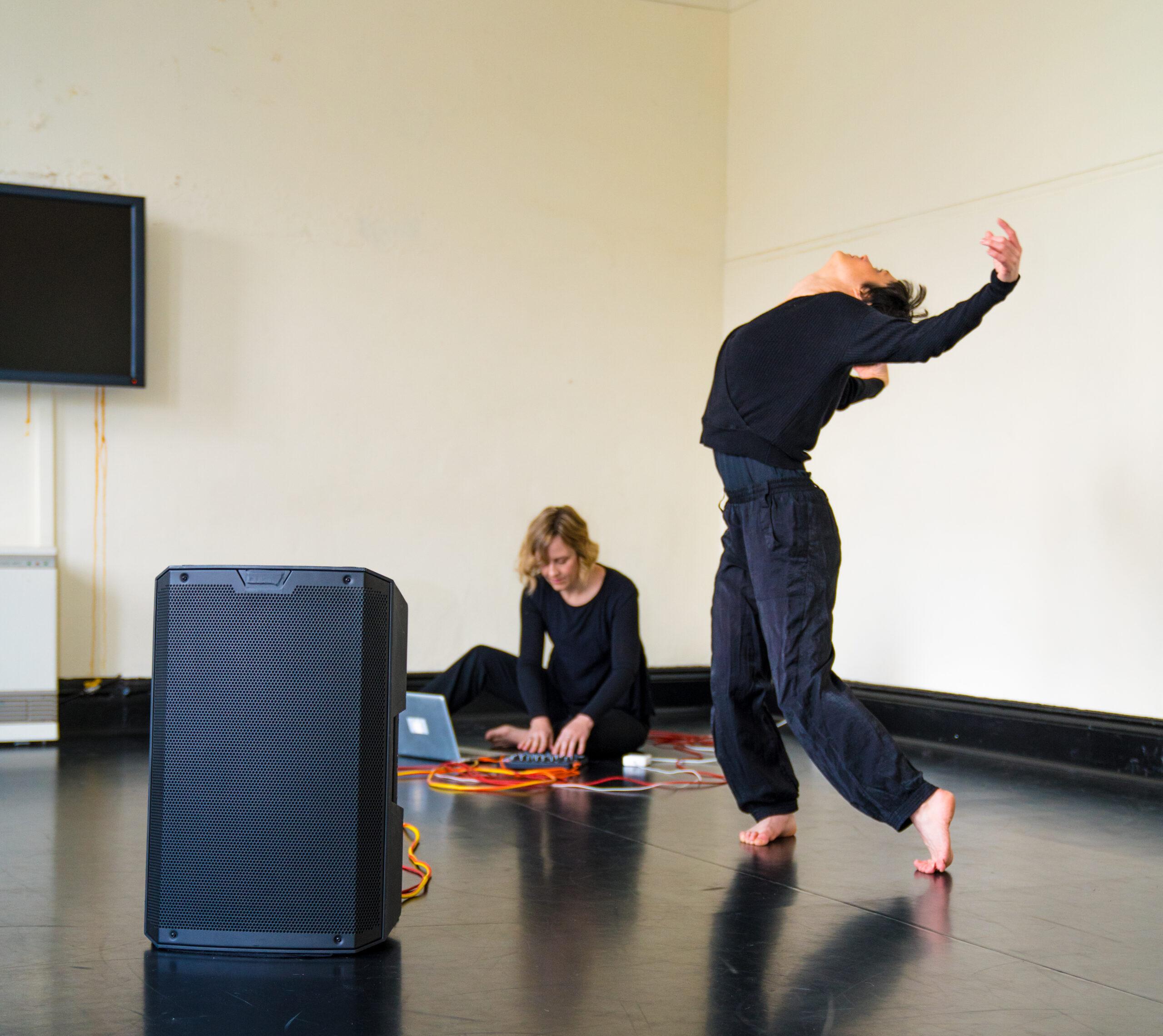 Body Acousmonium contemporary dance piece