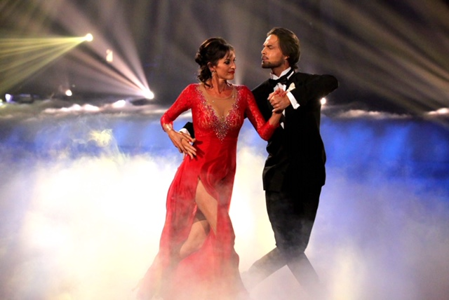 Cassandra Thorburn and Marco De Angelis Dancing With The Stars