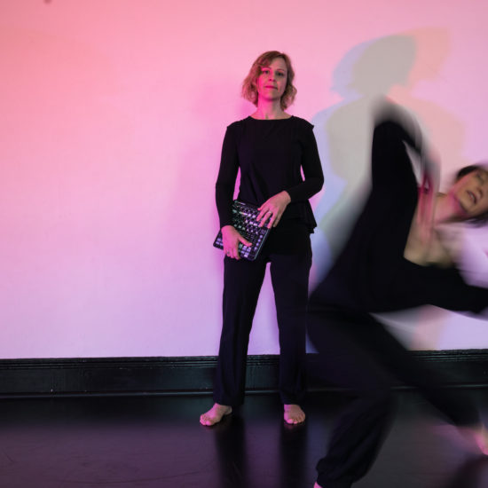 Body Acousmonium Gillian and Amanda Lever