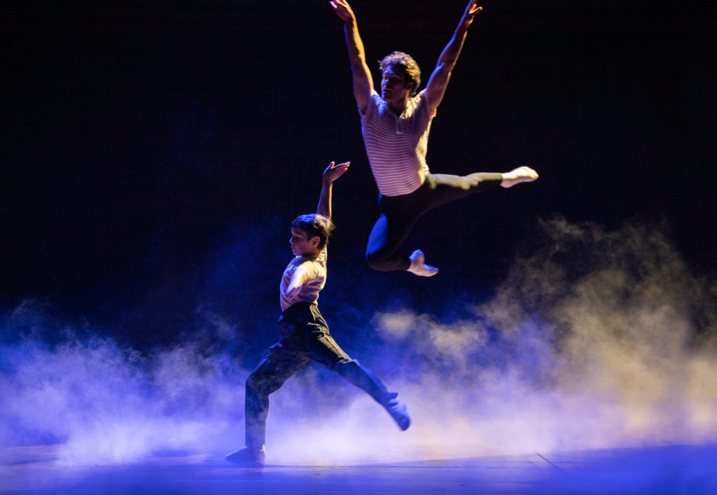River Mardesic and Aaron Smyth. Billy Elliot The Musical Australia