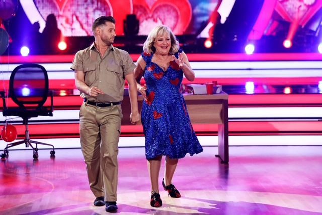Dancing With The Stars: Jeremy Garner and Denise Scott