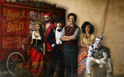 'Barnum – The Circus Musical' is Todd McKenney's tailor-made role
