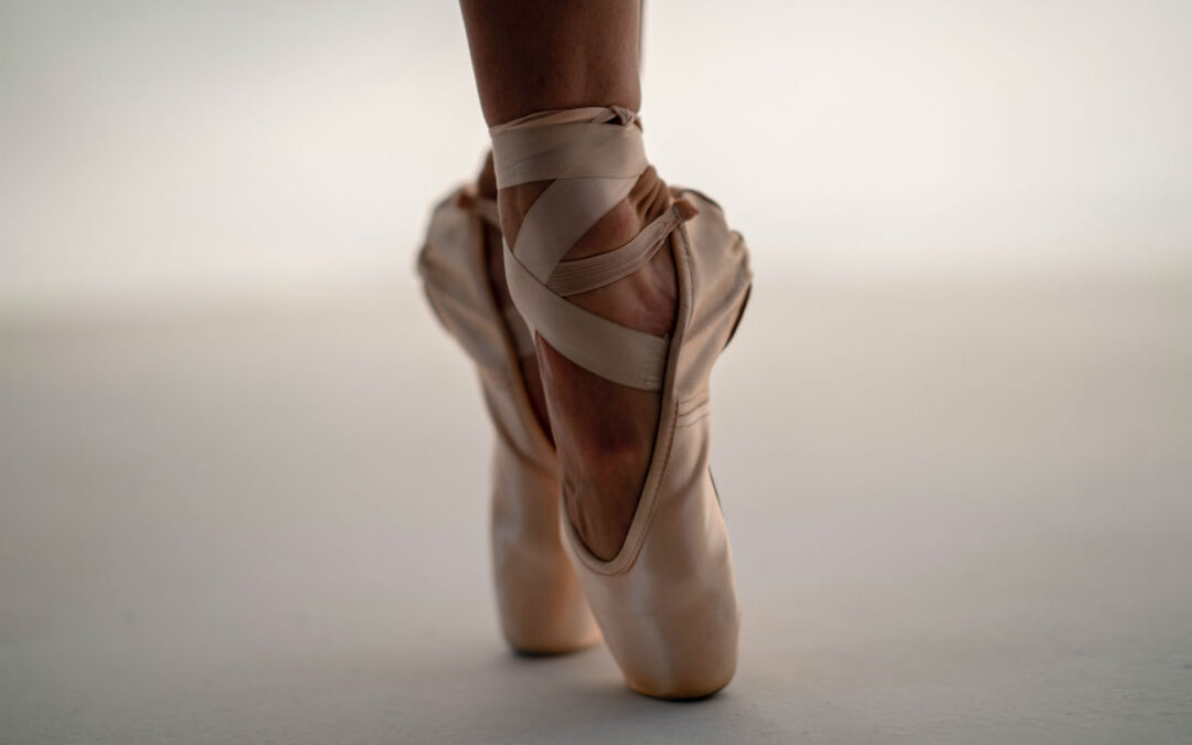 Too old for pointe shoes?